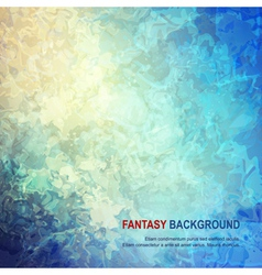 Fantasy Abstract Background vector image