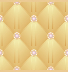 seamless background upholstery vector image vector image