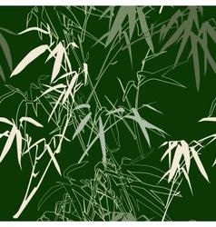 Bamboo seamless texture vector image vector image
