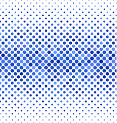Blue abstract dot pattern background design vector