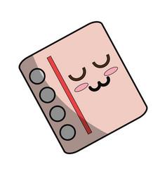 cute note sheet vector image