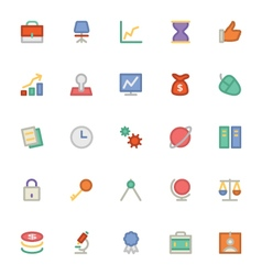 Finance Colored Icons 1 vector