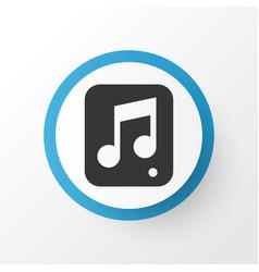 Multimedia icon symbol premium quality isolated vector