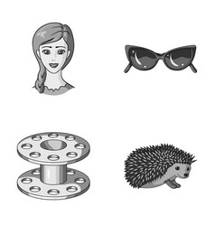 profession travel and other monochrome icon in vector image