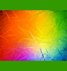 rainbow needles background vector image