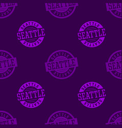 Seattle seamless pattern vector