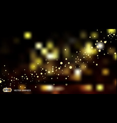 digital abstract bokeh background with vector image