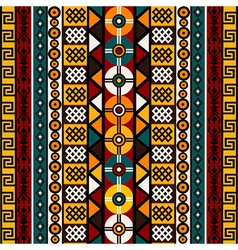 Ethnic background with tribal motifs vector