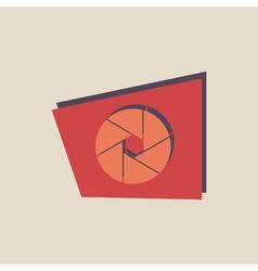 abstract icon logo vector image