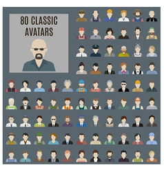 Avatars vector image