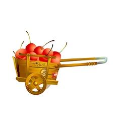 Icon cart vector