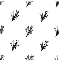 Rosemary icon in black style isolated on white vector