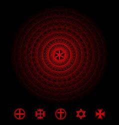 Sacred Symbol vector image vector image