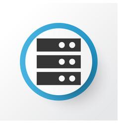 server icon symbol premium quality isolated vector image vector image