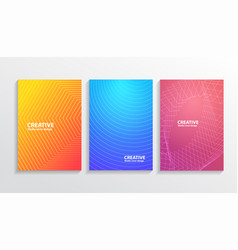 Book cover design abstract cover template vector