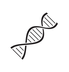 dna icon design template isolated vector image
