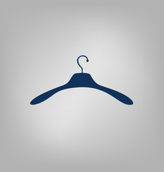 Hanger flat icon vector