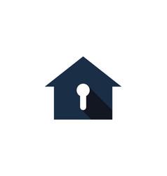 house security logo icon design vector image