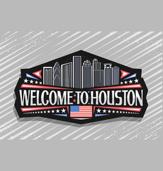 Logo for houston vector
