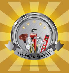 Plumbing service vector