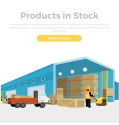 Products in Stock vector