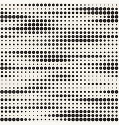 Set 50 halftone circles grids invert vector