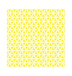 yellow flower of life sacred geometric background vector image