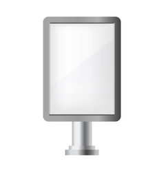 Pillar ad vector image