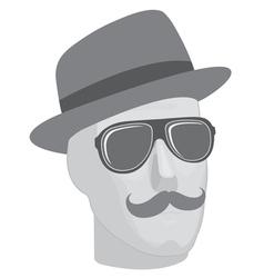 Mannequin head vector image