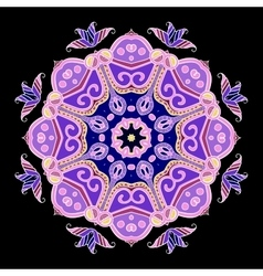 Abstract Hand-drawn Mandala 5 vector image
