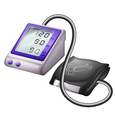 Blood pressure monitor kit vector image