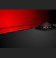 Conceptual dark technology striped background vector