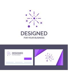creative business card and logo template bang vector image