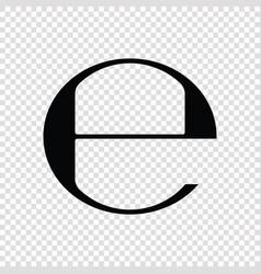 Estimated e mark symbol vector