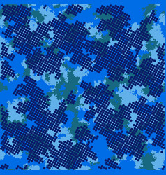 Fashion camo colorful camouflage pattern vector