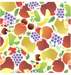 fashion girlish funny wallpapers seamless pattern vector image