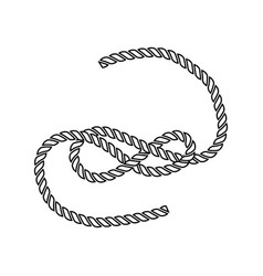 Icon rope vector