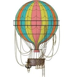 Old Air Balloon vector