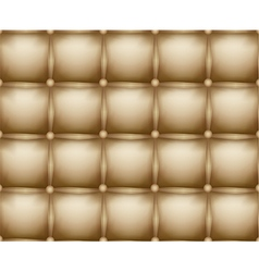 Texture leather upholstery sofa vector image