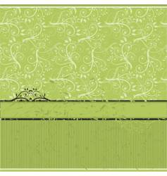 vintage wallpaper old style vector image
