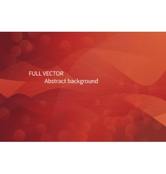 Abstract red waves background vector