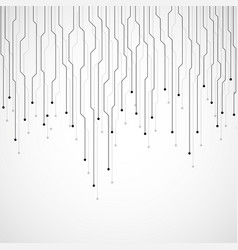 Abstract technology background circuit board vector