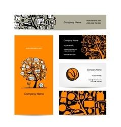Basketball card royalty free vector image vectorstock business cards design basketball tree concept vector image colourmoves