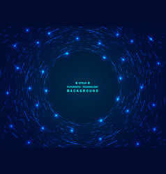 chaos futuristic gradient blue technology vector image