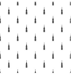 Church pattern vector