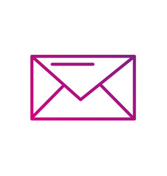 email communication chat social media icon vector image