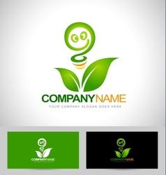 Green Energy Logo Concept vector image