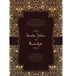 Invitation arabic vector