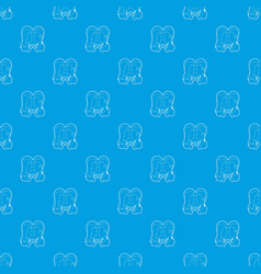 lesbian couple pattern seamless blue vector image