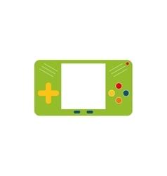 Portable videogame console vector